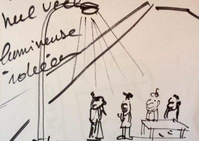 Visueel communiceren - Ciao Bruno -Bruno Edsme-Mobiel atelier-Plintwens Zwolle