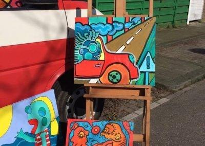 expo schilderkunst Bruno Edsme