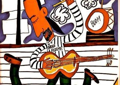 Flyer. Ciao Bruno ontwerp